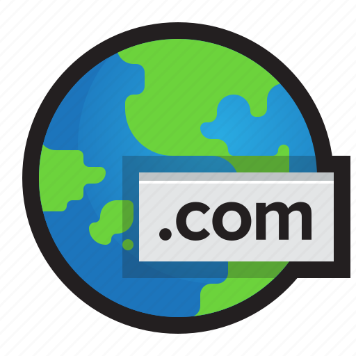 address, domain, internet, url, web, world wide web, www icon