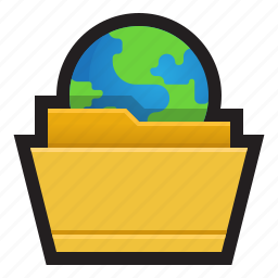 file, folder, ftp, protocol, sync, transfer, upload icon