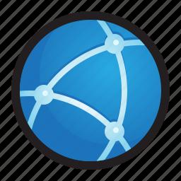 apple, internet, mac, net, network, web, www icon