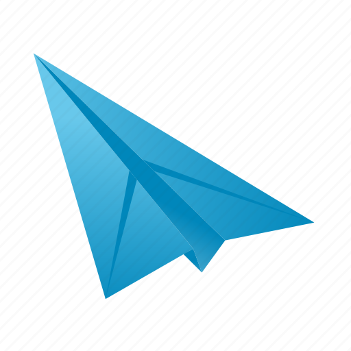 airplane, file, page, paper, plane icon