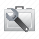 bag, briefcase, graphic, repair, tool, tools icon