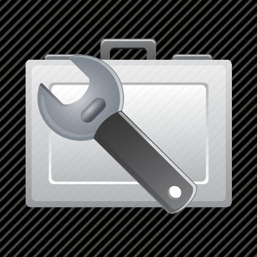 bag, briefcase, graphic, repair, tool, tools icon
