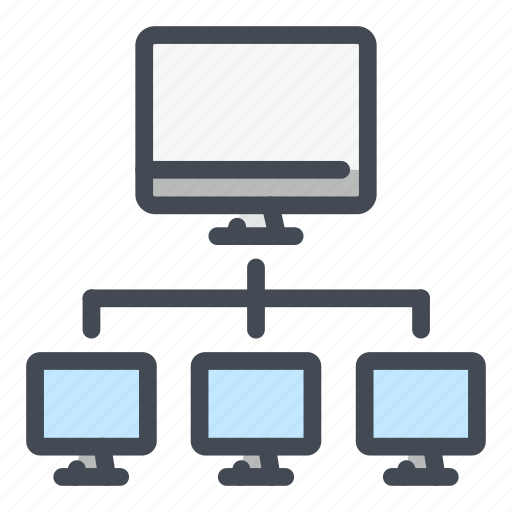 computer, connect, connection, lan, network, pc, technology icon