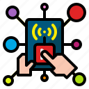app, application, development, internet, mobile, network, technology icon