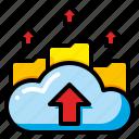 computer, data, export, file, send, storage, transfer icon