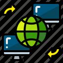 global, globe, internet, network, technology, world, worldwide icon