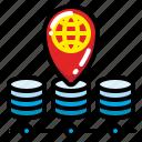 internet, location, pin, position, search, ui, web icon