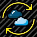 circular, loop, refresh, reload, repeat, reset, undo icon