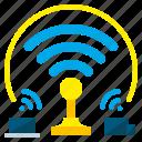 antenna, digital, hotspot, internet, signal, technology