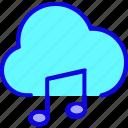 audio, cloud, database, media, music, network, storage