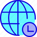 browser, network, page, wait, web, webpage, website icon