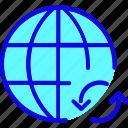 browser, internet, network, reload, web, webpage, website icon