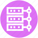 communication, data center, database, hosting, network, server, storage