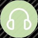 communication, customer, earphone, headphone, listening, service, telemarketer