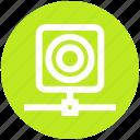 camera, communication, connection, hosting, network, web icon