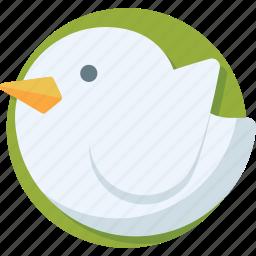 bird, internet, social media, tweet, twitter icon