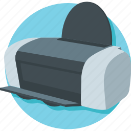 copy machine, facsimile, fax machine, office supplies, printer icon