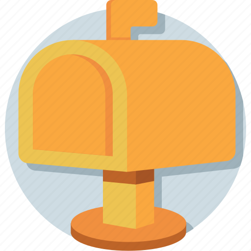letter, letterbox, mail slot, mailbox, post box icon