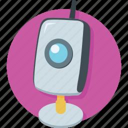 cam, camera, computer cam, live chat, webcam icon
