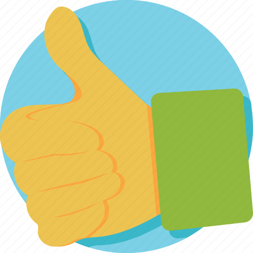 gesture, hand, social like, thumbs up, welldone icon