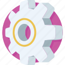 cog, cogwheel, gear, preferences, setting icon