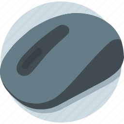 click, computer mouse, input device, mouse, pointing device icon