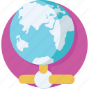 globe, hosting, internet, networking, server icon