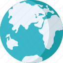 global, globe, map, planet, world map icon