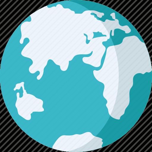 global, globe, map, planet, world map icon