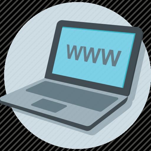 Browsing, internet, laptop, online, www icon - Download on Iconfinder