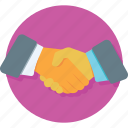 agreement, deal, handshake, partners, partnership icon