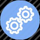 cog, cogwheel, engine, gears, network, options, settings
