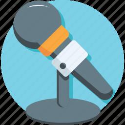 audio, mic, microphone, recording, speak icon