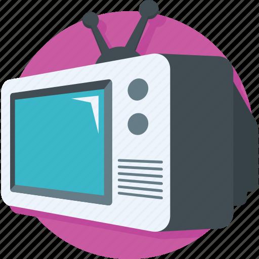 multimedia, television, transmission, tv, tv screen icon