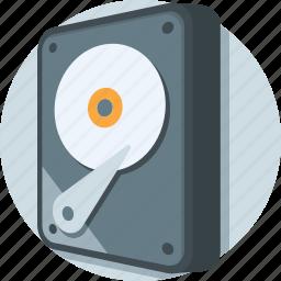 hard disk, hard drive, hardware, hdd, storage icon