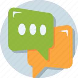 chat bubble, chatting, comment, message, texting icon