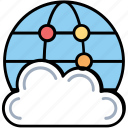cloud hosting, cloud computing, internet cloud technology, cloud network, cloud sharing icon