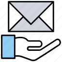 email advertising, email campaign, email marketing, emarketing, mail service icon