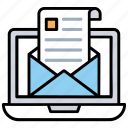 email advertising, email campaign, email marketing, email service, emailing icon
