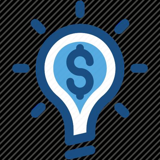 bulb, business idea, creativity, invention, lightbulb icon