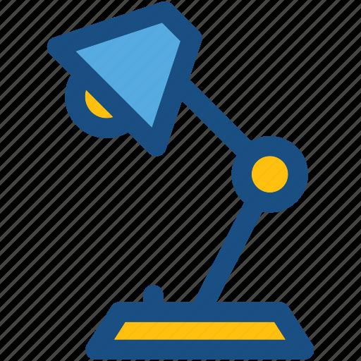 arc lamp, desk lamp, desk light, lamp, lamp light icon