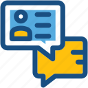 chat bubble, chat support, client chat, live chat, speech bubble icon
