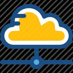 cloud computing, cloud connection, cloud network, cloud sharing, social media icon