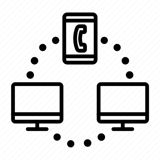 adaptive interface, computer, data transfer, internet, mobile, network icon