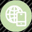 communication, earth, globe, internet, mobile, phone, world