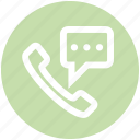 call, chat, contact, message, phone, sms, telephone