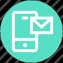 communication, email, envelope, letter, mail, mobile, phone