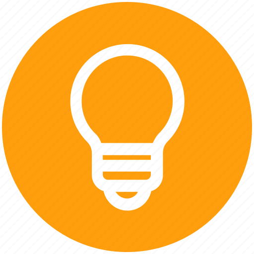 Bulb, electricity, idea, lamp, light, light bulb icon - Download on Iconfinder