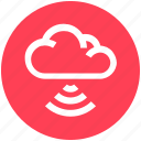 cloud computing, connection, internet, signals, technology, waves, wifi cloud