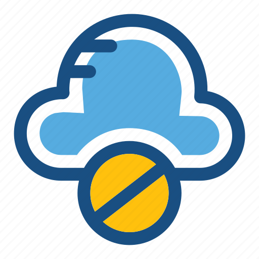 block storage, cloud blocked, cloud computing, data blocking, storage cloud icon